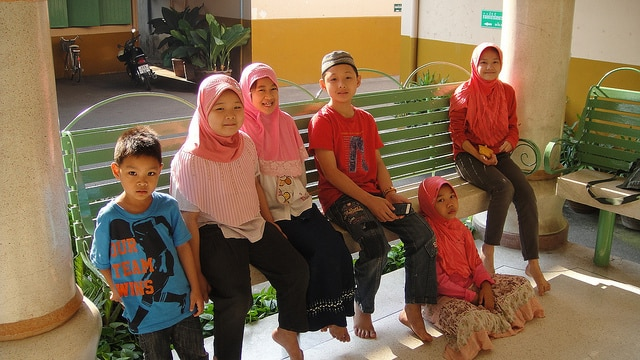 Muslim Students - Chiang Mai Wat Ket Neighborhood
