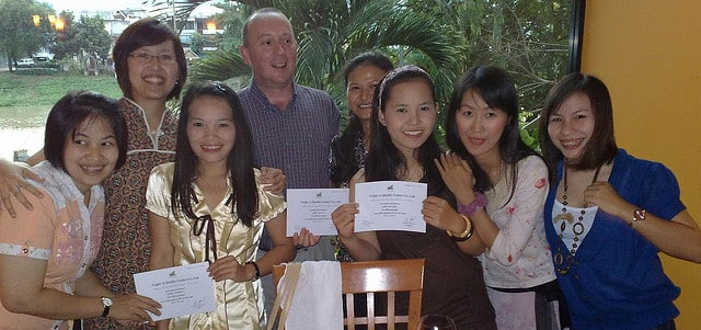 SEE TEFL ISO 9001-2008 Certification Celebration