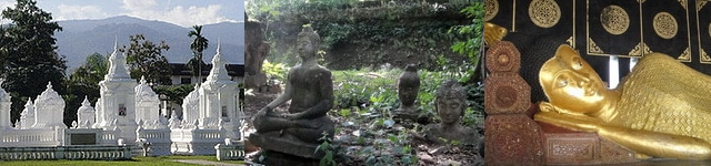 Thai Temples and Buddha Statues