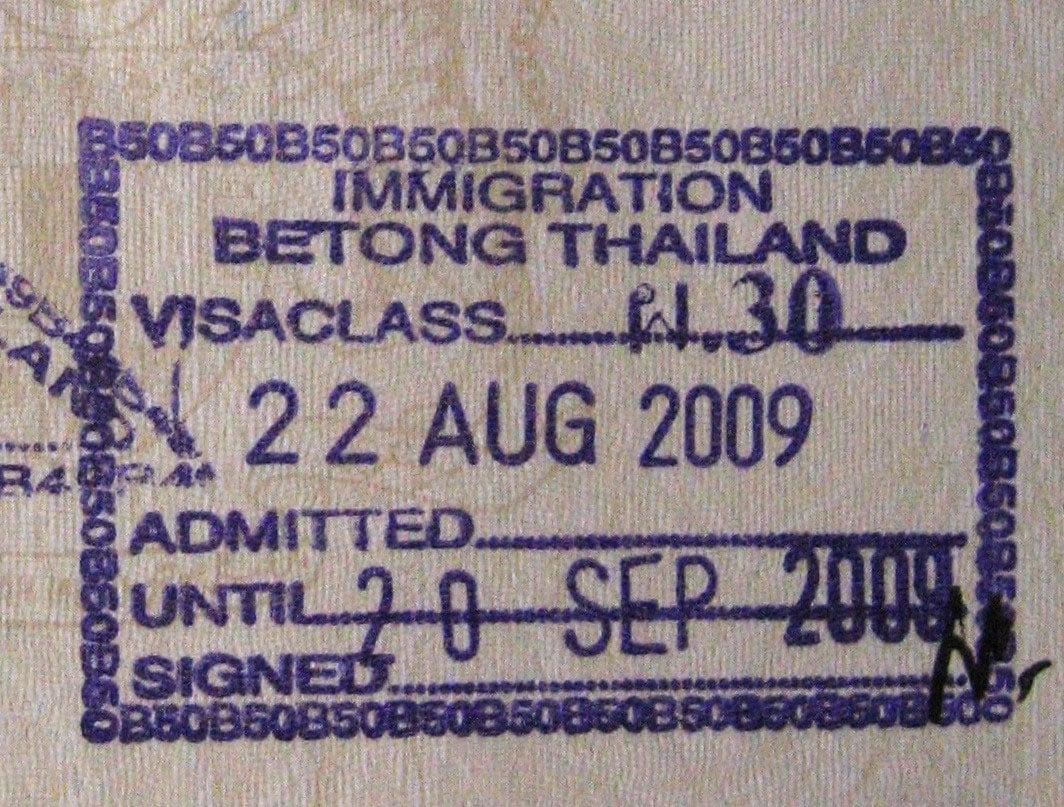 Thai visas work permits and immigration issues thai visa exempt aljukfo Gallery